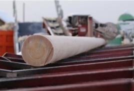 Снижение цен на деревянные опоры ЛЭП
